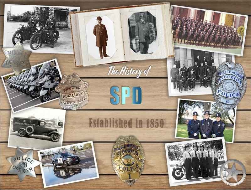Stockton Police Department historical photo