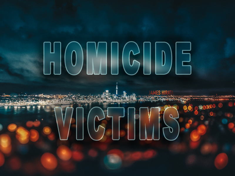 Homicide victims within the City of Stockton
