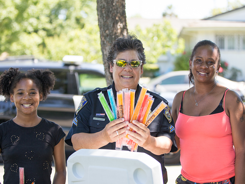 Stockton Police Department Community Events