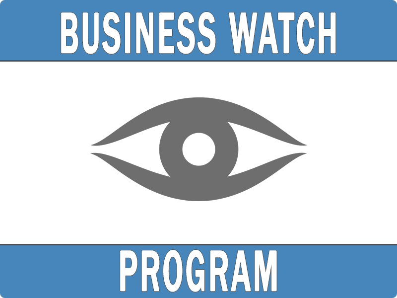 Stockton Police Department Business Watch Program