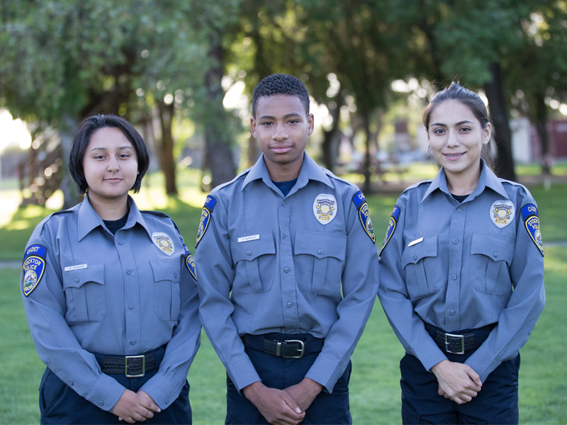 Stockton Police Youth Activities and Cadet Program
